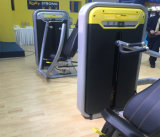 Máquina/pierna asentadas de la gimnasia del enrollamiento de pierna que estira la máquina