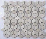 Mosaico de mármol del diamante
