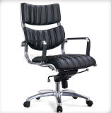 Chaise en cuir pivotante pivotante à bas prix Orange Orange (SZ-OC131-1)