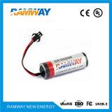 bateria de lítio 3.6V para a eletrônica militar (ER18505M)