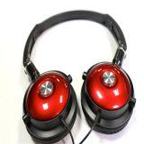 Cool Portátil Auriculares con micrófono. Auricular de rojo y negro