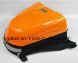 Корпус из углеродного волокна жесткий мотоцикл задние подушки безопасности с помощью Net крышки