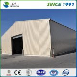 Estructura de acero prefabricadas con paneles de lana de fibra