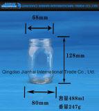 Glasflasche des Küchenbedarf-100-500ml für Nahrungsmittelspeicher