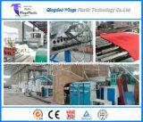 Belüftung-rote Matte, die Maschine/flaumigen Plastikmatten-Walzen-Produktionszweig bildet