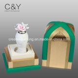 Коробка дух PU изготовленный на заказ вставки бархата держателя ЕВА кожаный