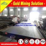 De gouden Installatie van het Proces van de Apparatuur van de Mijnbouw van de Separator van het Erts van Zircon van het Tin van de Lijst van de Concentratie