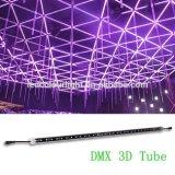Indicatore luminoso verticale del tubo LED del soffitto DMX 3D del locale notturno