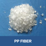 Het Polypropyleen Fibra van de Materialen van de Rang van de Bouw van de Vezel van pp