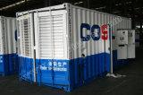 Ce/Soncap/CIQ/ISOの証明の建設プロジェクトのための1500kVA Yuchaiの無声ディーゼル発電機
