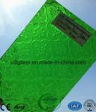 Зеленое Flora Patterned Glass с Ce, ISO (3-8mm)