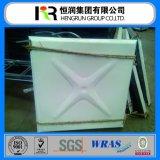Tanque secional secional dos painéis do armazenamento Tank/FRP da água da fibra de vidro de GRP SMC