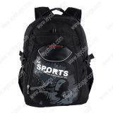 Computer portatile nero Bag di Backpack per Outdoor Sports Hiking Travelling (BP130201)