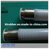 Stainless Steel를 가진 FDA Reinforced Silicone Hose