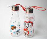 Facile trasportare bottiglia di acqua di vetro
