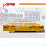 El movimiento transversal de Carga Ferrocarril Eléctrico del vehículo de manipulación para almacén