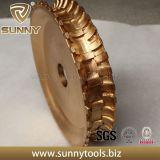 Bull Nariz Brasagem Diamond Diamante de Mármore Ferramenta roda de perfil