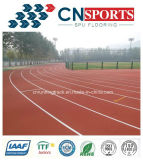 Allwetter- athletische laufende Gummispur des Chemiefasergewebe-EPDM