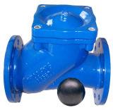Epoxy Coating Ductile Iron Ball Valvula de retenção