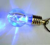 Милый шарик Keychain проблескового света СИД при напечатанный логос (4058)