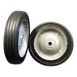"""7 rotella di gomma semi pneumatica di pollice 7 """" X1.5 """""""