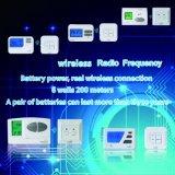 Termostato ambiente electrónico programable de RF para calefacción y refrigeración (S2302 RF)