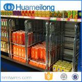 Qualitäts-logistische galvanisierte faltbare Walzen-Behälter
