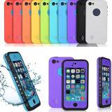 Cas protecteur imperméable à l'eau de couverture de mobile/téléphone cellulaire pour l'expert en logiciel 5s de l'iPhone 5 pour le cas de smartphone de souhait d'Amzon Ebay
