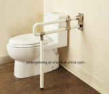 Barre d'encavateur antidérapante de Bath fixé au sol de barre de sûreté de toilette pour l'hôpital