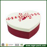 Boîte-cadeau de papier en forme de coeur faite sur commande en gros