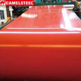 A cor revestiu a bobina de aço de aço da bobina PPGI/chapa de aço galvanizada Prepainted