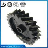 OEM engranaje helicoidal / Espiral de la rueda / rueda cónica para la transmisión de forja y mecanizado