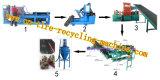 Ligne de recyclage des pneus usés, Ligne de production de poudre en caoutchouc,