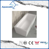 浴室の正方形のアクリルの支えがない浴槽(AB1515W)