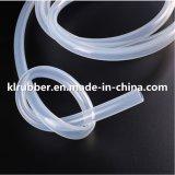 Grau alimentício Cor Transparente de borracha do tubo de borracha de silicone resistente ao calor