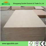 Madera contrachapada de madera dura llena Core E1 grado color blanco HPL