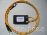 Wdm de 1X2 Optical Fused com FC Connector