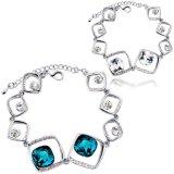 Braccialetto a cristallo del braccialetto delle donne di modo