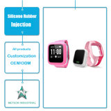 Moulage par injection promotionnel personnalisé de silicones de bracelet de bracelet de bracelet de silicones de cadeaux de produits de silicones