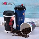 Koppen van het Document van de Koppen van de Drank van de Koppen van de Thee van de Koppen van de Koffie van China de Beschikbare 8oz met Deksels