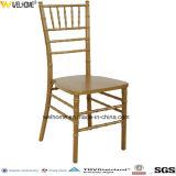 Cadeira Chiavair empilhável de madeira baratas para casamento