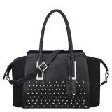 Neuer modischer PU-Schultaschen-Beutel-volle Nageltote-Handtasche