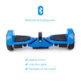 K5 gomma grassa Hoverboard elettrico con gli altoparlanti doppi di Bluetooth