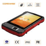 Tablette PC 7inch tenue dans la main avec le 2D scanner de code barres