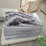 自然な石造りの曇った灰色の大理石の価格