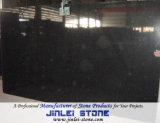 Shanxi piedra pulida Negro Granito Suelo del azulejo