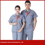 Factory Wholesale Cheap Work pair of overalls Garments (W211)