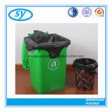 Sac d'ordures en plastique noir pour l'usage public