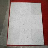 자연적인 돌 Bianco Carrara 백색 대리석