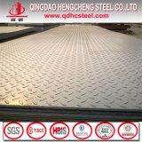 Placa de assoalho Ss400 antiderrapante de aço Checkered
